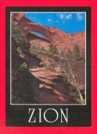 U.S.A.  UTAH  -  ZION NATIONAL PARK  -  Kolob Canyons - Zion