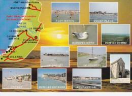 La Côte Picarde - Multivues - Carte Géographique - Frankreich