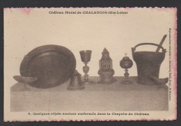 DD / 43 HAUTE LOIRE / POLIGNAC / CHATEAU DE CHALANÇON-POLIGNAC / OBJETS  ANCIENS DANS LA CHAPELLE - Other Municipalities