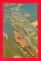 U.S.A.  WISCONSIN  -  MILWAUKEE  -  269  Jones Island And Freighter Harbor - Milwaukee