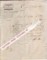 Lettre De 1842 CHARBONNAGES Et HAUTS-FOURNEAUX D´OUGREE-LEZ-LIEGE - Ohne Zuordnung