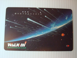 Xerox Prepaid Copy Card: Universe, USED - Phonecards