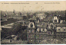 PARIS             CIRCULEE  EN  1924 - Ponts