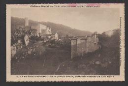 DD / 43 HAUTE LOIRE / POLIGNAC / CHATEAU DE CHALANÇON-POLIGNAC / VUE GENERALE - Other Municipalities
