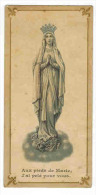 """IMAGE PIEUSE  : """" Aux Pieds De Marie J' Ai Prié Pour Vous """" - Andachtsbilder"""