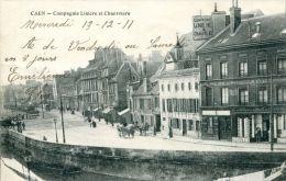 N°35244 -cpa Caen -compagnie Linière Et Chanvrière- - Caen