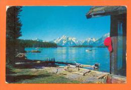 U.S.A.  WYOMING  -  2134  Jackson Lake And Teton Range - Etats-Unis