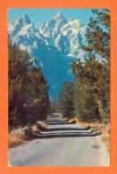 U.S.A.  WYOMING  -  285  Grand Teton Peak - Grand Teton National Park - Etats-Unis