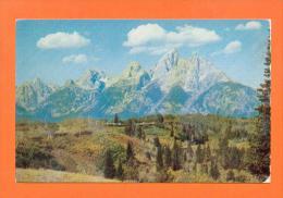 U.S.A.  WYOMING  -  168  Teton Peaks - Etats-Unis