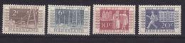 PAYS BAS N° 574/577 CENTENAIRE DES P.T.T .CHARNIERE TRES LEGERE - 1949-1980 (Juliana)