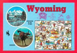 U.S.A.  WYOMING  -  19771  WYOMING - Cody