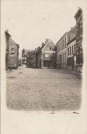 Cpa/pk Fotokaart  Carte Photo 1913 Schoenmagazijn Weststraat Loo Lo Reninge 2 Scans - Lo-Reninge