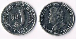 Turkmenistan  50 Tennesi 1993 - Turkménistan