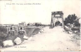 FOS SUR MER - Pont Levis , Canal D'Arles à Port De Bouc - France
