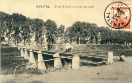 Herstal - Pont Willem Et Drève Du Canal -1912 ( Voir Verso ) - Herstal