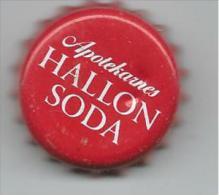 TAP058 - TAPPO CORONA - APOTEKARNES HALLON SODA - Soda