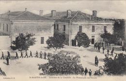 INTERIEUR DE LA CITADELLE -LA PROMENADE DES FORCATS - Saint-Martin-de-Ré
