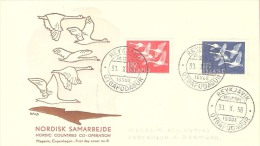 ICELAND  #FIRST-DAY COVER FROM YEAR 1956 - FDC