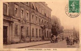 57 Sarreguemines, La Poste - Sarreguemines