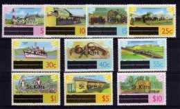 St Kitts - 1980 - Definitives (No Watermark) - MNH