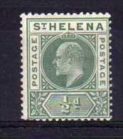 St Helena - 1902 - ½d Definitive - MH - Sainte-Hélène