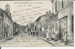 Lisle En Rigault  Rue De Saint Dizier - Autres Communes