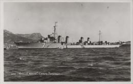 Contre-torpilleur MAILLE BREZE (Marine Nationale) - Carte Photo éd. Bouvet Sourd - Bateau/ship/schiff - Guerre