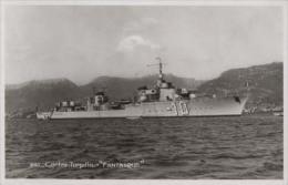 Contre-torpilleur LE FANTASQUE (Marine Nationale) - Carte Photo éd. Bouvet Sourd - Bateau/ship/schiff - Guerre