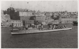 Contre-torpilleur CHEVALIER PAUL (Marine Nationale) - Carte Photo - Bateau/ship/schiff - Guerra