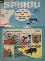 Spirou - Fascicule N° 1422 15-07-65 Franquin Roba - Spirou Magazine