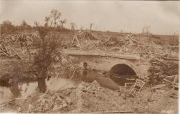 Photo Originale 1918 MOREUIL - Le Pont De Morisel (A41, Ww1, Wk1) - Moreuil