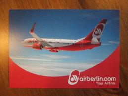 Airberlin.com Airlines Carte Postale - 1946-....: Moderne