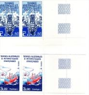 TERRES AUSTRALES Et ANTARCTIQUES  :  Navires Var Et Polarbjorn - N° 210 Et 121 - Blocs-feuillets