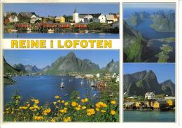 Norvège Norway N°14319 1 Reine I Lofoten 1993 Timbre Hurtigruten Voir Beau Timbre - Norvège