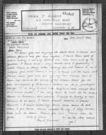 1942 WWII Original Censored AIRGRAPH From Haifa PALESTINE - London - 1939-45