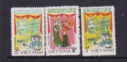 Vietnam1984 Friendship With Cambodia Set MNH - Viêt-Nam