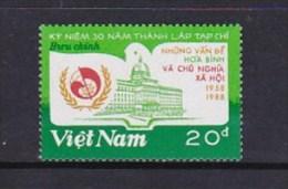 Vietnam1988 Socialism Magazine Stamp  MNH - Vietnam