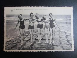 CP BELGIQUE (M53) BLANKENBERGE (2 Vues) Jolies Baigneuses - Groep Schone Baadsters N°507 1952 - Blankenberge