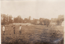 Photo Originale 1918 CAIX (près Rosières-en-Santerre) - Soldats Allemand (A41, Ww1, Wk1) - France