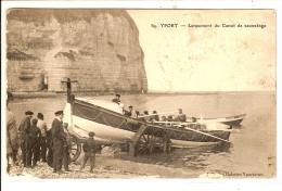 Yport Lancement Du Canot De Sauvetage - Yport
