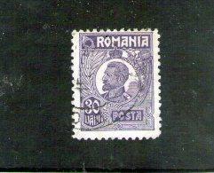 1919/1926 - FERDINAND  Mi 269 Et Yv  276  Violet - Gebraucht