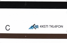 Estonia, ET 017-C, Alcatel 1994 Series Of Views, The Baltic Glint, C, 2 Scans. - Estonia