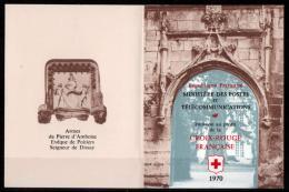 FRANCE 1970 CARNET CX-ROUGE N° 2019 A VARIETE 27 Mm Au Lieu De 32 Mm COTE 88 EUROS - Carnets