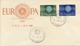 """FDC Turkije - 1960 - """"Blanco"""" / Open Klep - Europa-CEPT"""