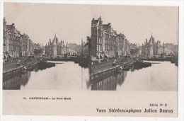 PAYS-BAS - AMSTERDAM - Le New Mark - Vues Stéréoscopiques Julien Damoy - Stereoscope Cards