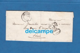 Lettre Ancienne De 1855 - MACON ( Saone Et Loire ) - écrite Par P. Protat, Avoué à M. Josellin Avocat  Cour De Cassation - Historical Documents