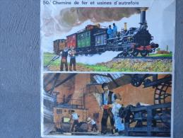 86-MONTMORILLON- CHEMINS DE FER ET USINE AUTREFOIS- LES 3 GLORIEUSES GAVROCHE BARRICADE PARIS- - Affiches