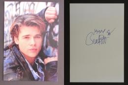 Brad Pitt   -    (Nº03580) - Autographes