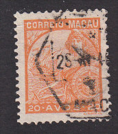 "Macao, Scott #281, Used, ""Portugal"" And Vasco Da Gama´s Flagship ""San Gabriel"", Issued 1934 - Macau"