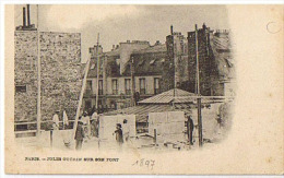 FORT  CHABROL      GUERIN  SUR  SON  TOIT   NON  CIRCULEE    1899 - Manifestazioni